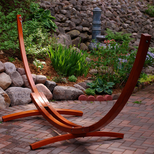 Algoma Net Company Wood Arc Hammock Frame