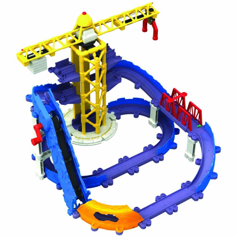 Chuggington StackTrack Brewsters Big Build Adventure Set Multi-Colored