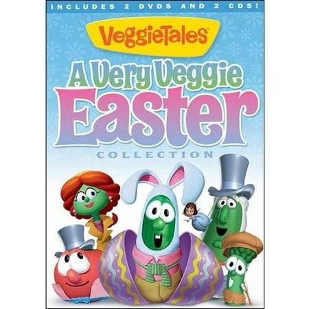 VeggieTales: A Very Veggie Easter Collection (2 DVDs + 2 CDs) (Widescreen)