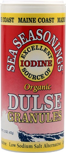 Maine Coast Sea Vegetables Sea Seasonings Organic Dulse Granules, 1.5 Oz by Maine Coast Sea Vegetables