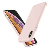 """Cell Phone Cases For 6.1"""" iPhone XR, Njjex Liquid Silicone Gel Rubber Shockproof Case Ultra Thin Fit iPhone XR Case Slim Matte Surface Cover For Apple iPhone XR 2018 -Pink"""