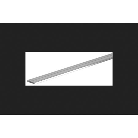 Boltmaster 0.125 in. x 1 in. W x 6 ft. L Flat Aluminum Bar