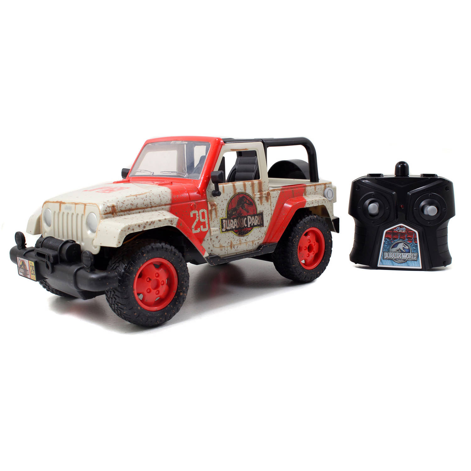Jada Toys Jurassic World 1/16 Scale Remote Control Jeep