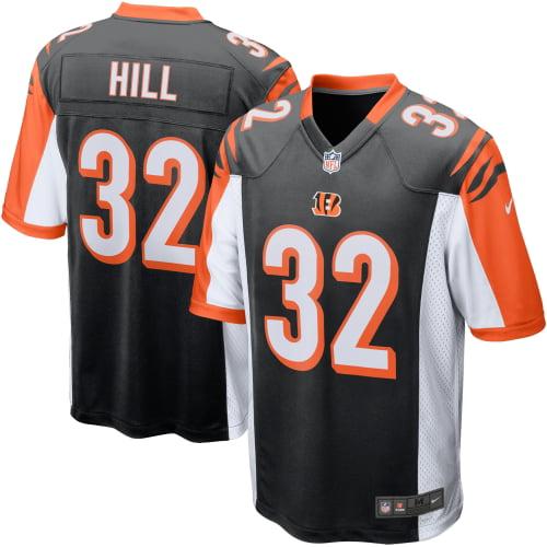 Jeremy Hill Cincinnati Bengals Nike Game Jersey - Black