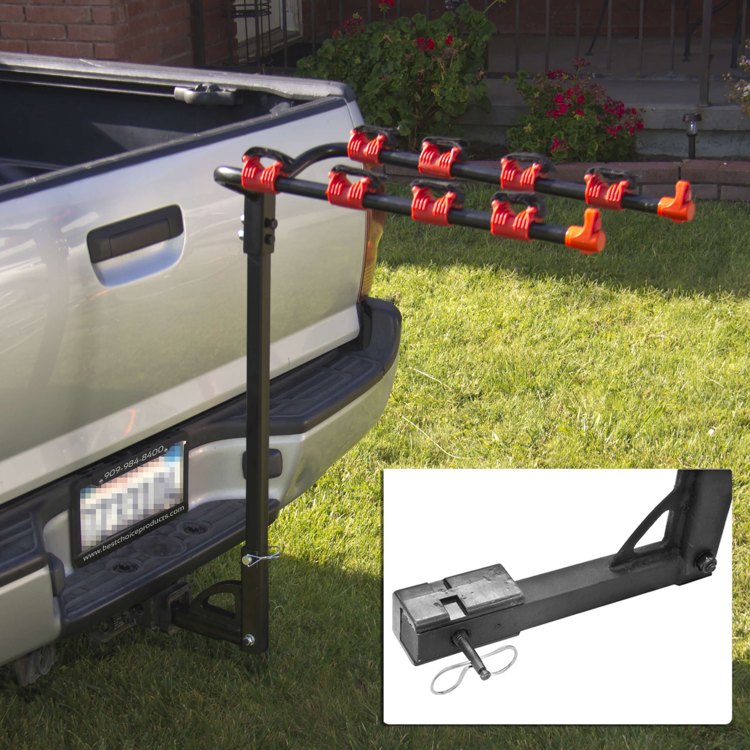 Best Choice Products Bike Rack 4 Bicycle Hitch Mount