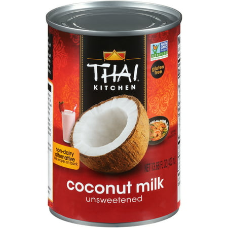 Chocolate Powdered Milk (Thai Kitchen Gluten Free Unsweetened Coconut Milk, 13.66 fl oz)
