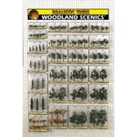 Woodland Scenics TR1599 Ready Made Tree Merchdiser