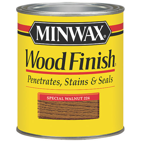 Minwax Wood Finish, 1/2 pt, Special Walnut