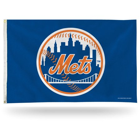 Window Flags Mlb Merchandise (Rico Industries MLB 3' x 5' Banner Flag, New York Mets)