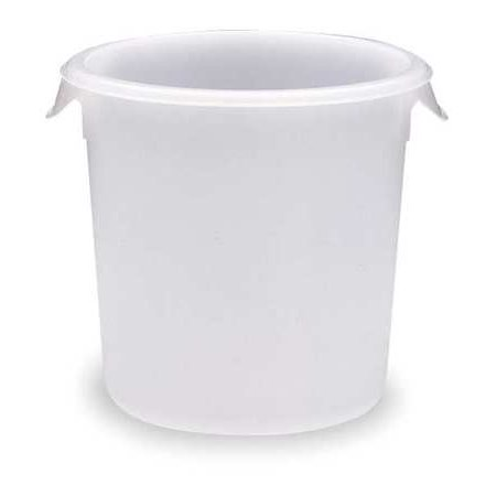 Rubbermaid Commercial FG572024CLR 2 Quart Round Storage Container (Clear)