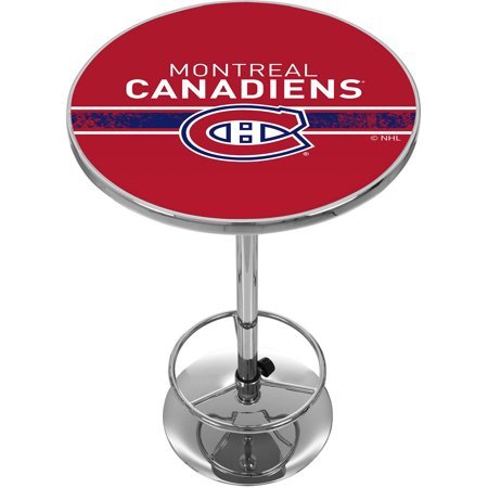 NHL Chrome Pub Table, Montreal Canadiens by