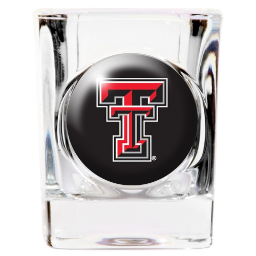 Texas Tech Red Raiders NCAA Square Shot Glass Great American Products 808520