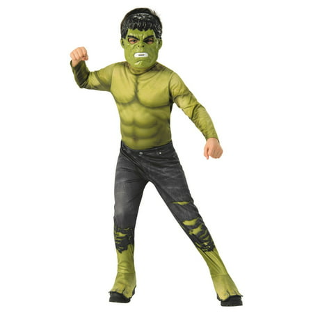 Marvel Avengers Infinity War Hulk Boys Halloween Costume (Boys In Halloween Costumes)