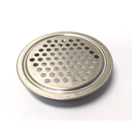 Aluminum 2.0625 Inch Vent Hole Cover for Arcade, PC or Vending Cabinets