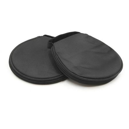 2pcs Universal Black Zipper 18 CDs Capacity CD VCD DVD Case Bag Holder for Car - image 3 of 3