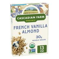 Cascadian Farm Organic Granola, Vanilla Almond, 13 oz