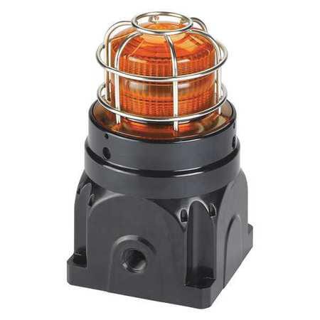 Strobe Light,Amber,FPM 60,Xenon,0.45A FEDERAL SIGNAL G-STR-120-D-A