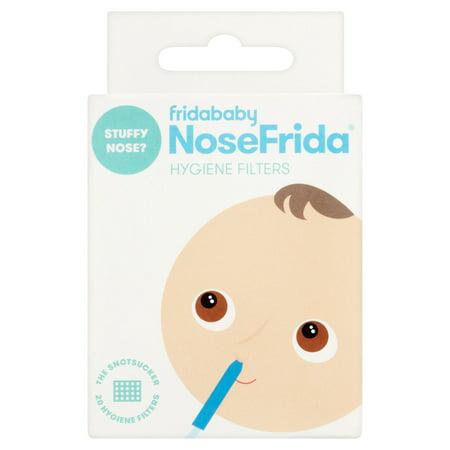 Fridababy NoseFrida Hygiene Filters, 20 count