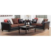 Sofa and Loveseat in Multicolor