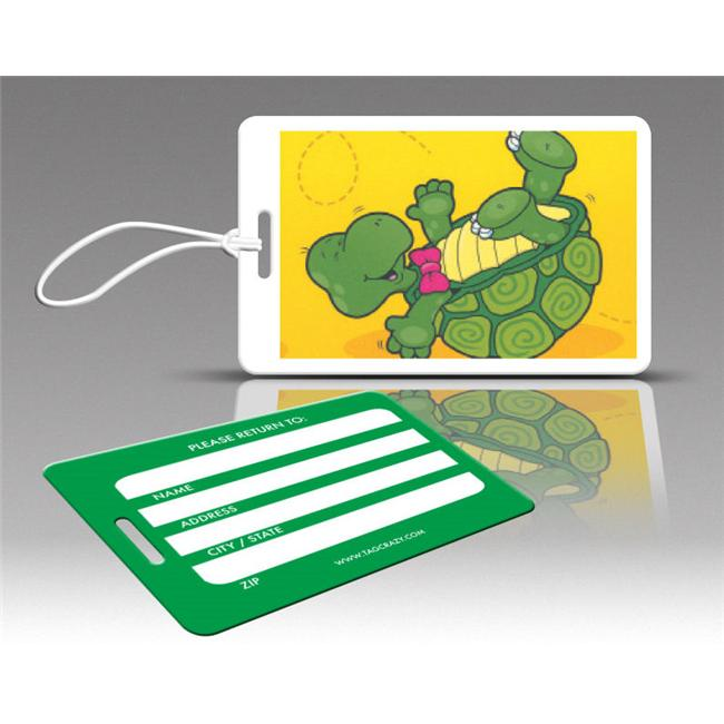 Insight Design 770671 TagCrazy Luggage Tags- Turtle- Set of Three