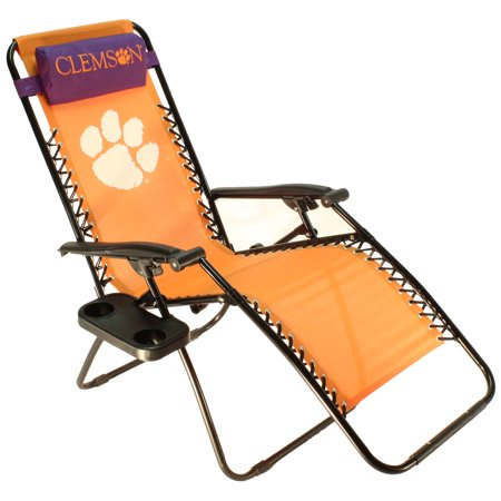 Clemson Tigers Textiline Zero Gravity Chair (Nebraska Lounger)