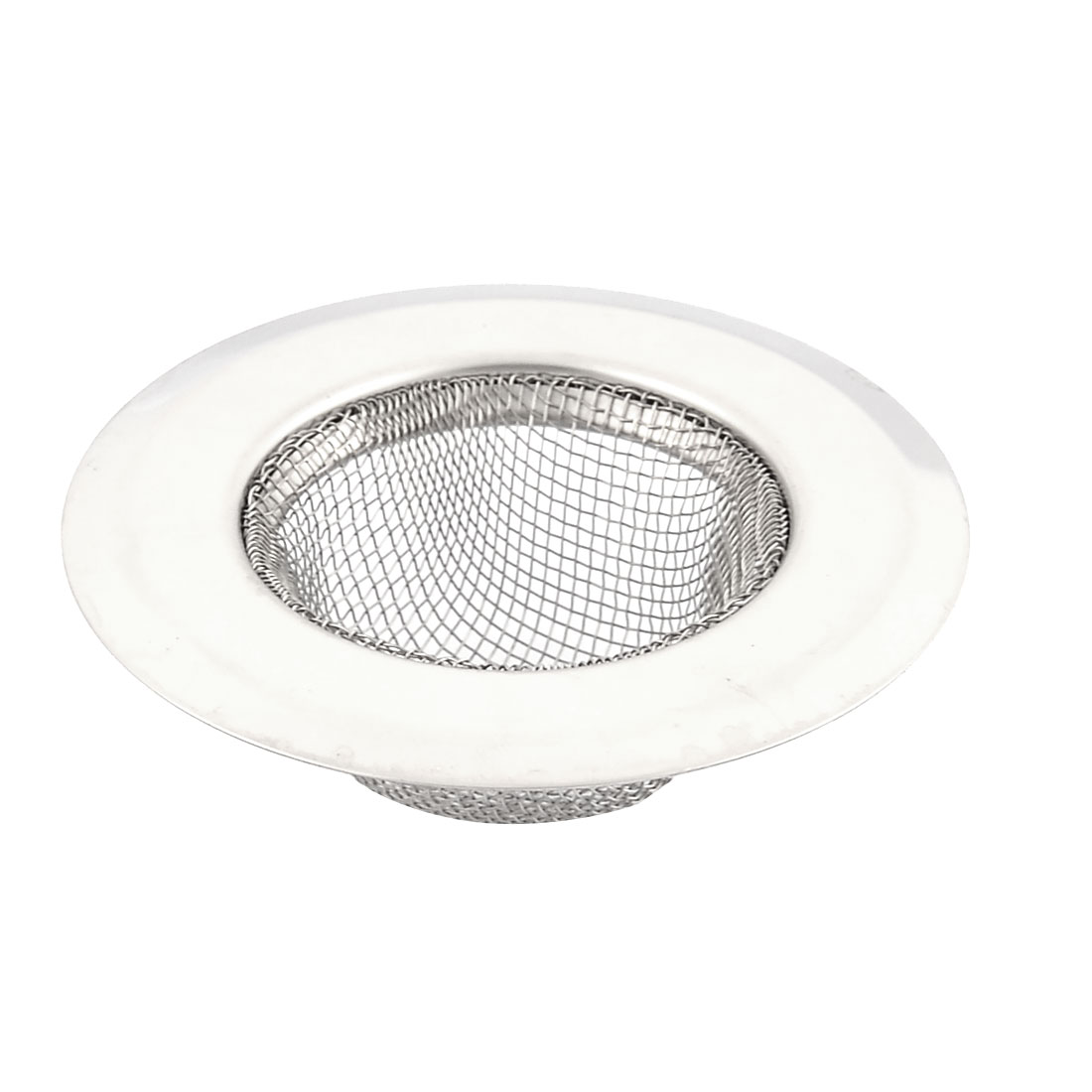 Home Kitchen Metal Sink Drain Strainer Screen Stopper Filter Basket 7cm Dia by Unique-Bargains