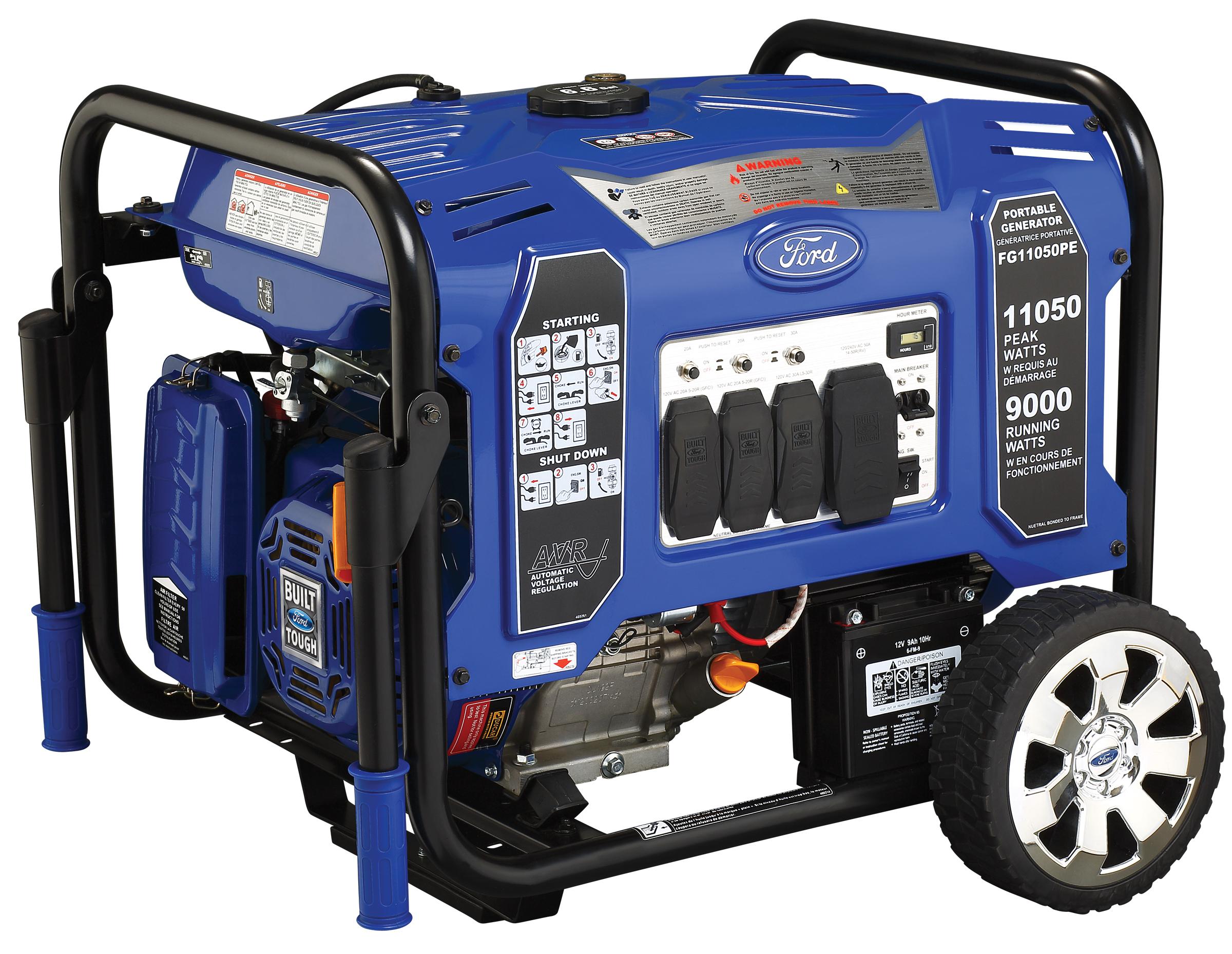 Ford M-Series 11050 Watt Gasoline Portable Generator