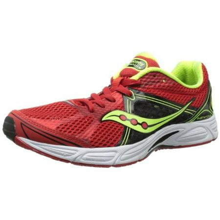 Saucony Men's Fastwitch 6 Running Shoe,RedBlackCitron,10 M US