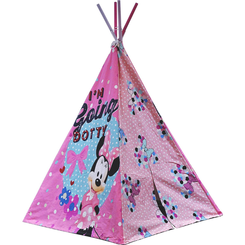 sc 1 st  Walmart & Disney Minnie Mouse Teepee Tent - Walmart.com