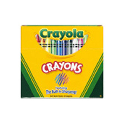 Crayola LLC Crayola Regular Size Crayon 64pk