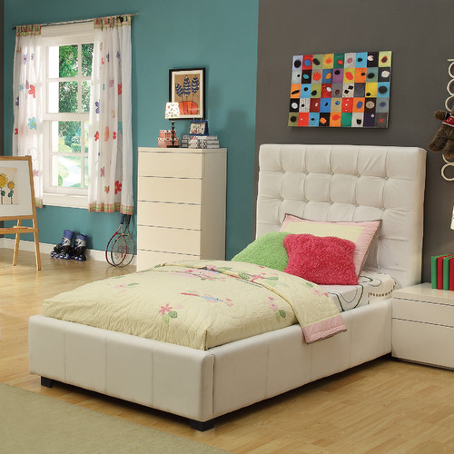 At Home USA Athens Twin Platform Bed with Storage