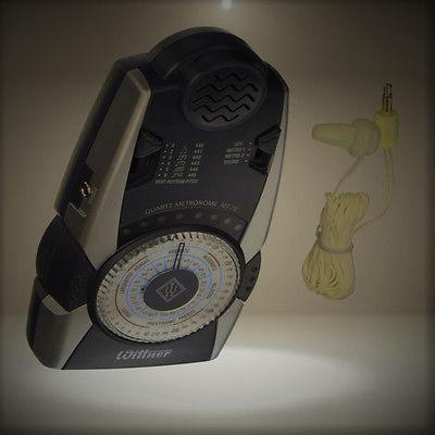 Wittner MT70 Digital Quartz Metronome with Volume Control by Wittner