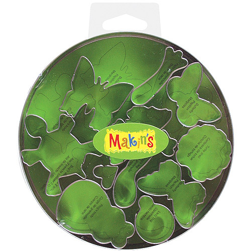 Makins USA Clay Cutters, Bugs, 11 Per Package Multi-Colored