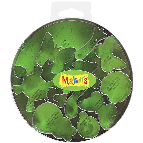Makin's Clay Cutter Set, Bugs, 11/pkg