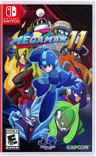 Mega Man 11, Capcom, Nintendo Switch, 013388410064