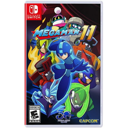 Mega Man 11, Capcom, Nintendo Switch, 013388410064 ()