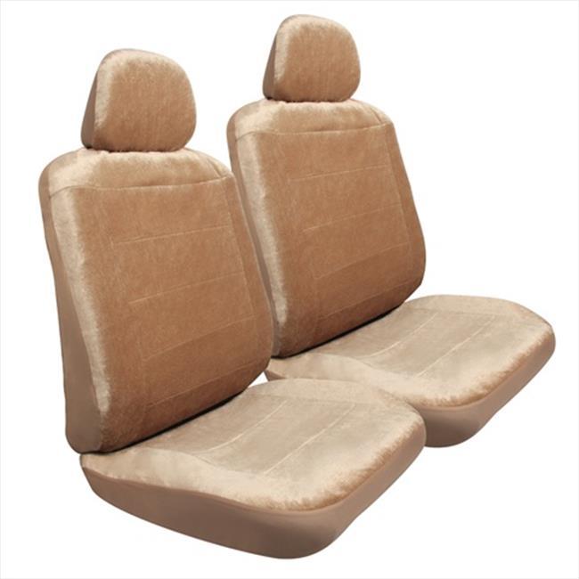 Pilot SC-417T Tan Royal Velvet Seat Covers - 6 Pieces