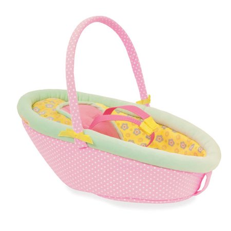 "Manhattan Toy Baby Stella Cute Comfort Car Seat for 15"" Baby Dolls"