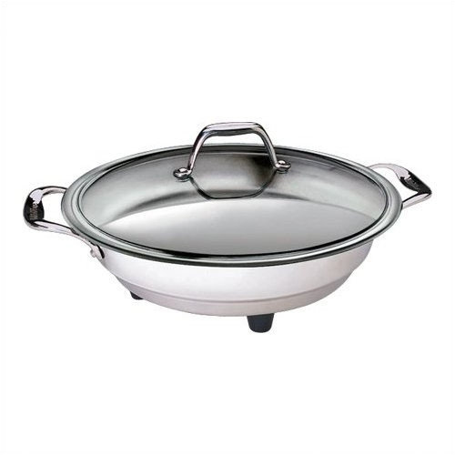 CucinaPro 16'' Classic Electric Skillet with Lid