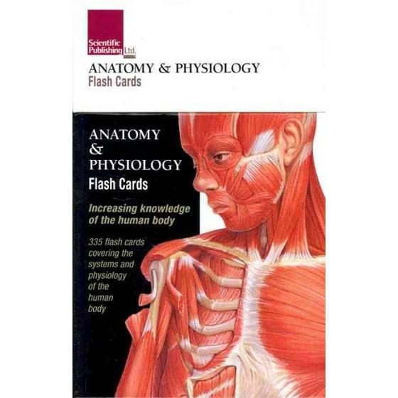 Anatomy & Physiology Flash Cards - Walmart.com