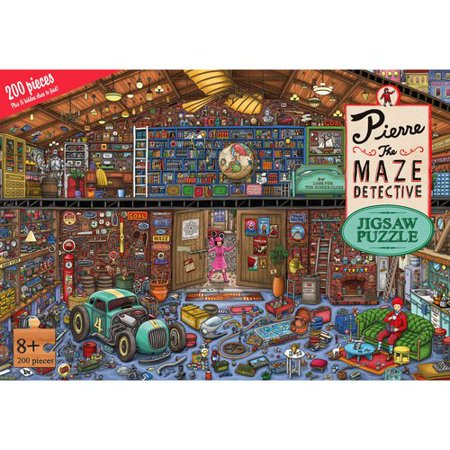 Pierre the Maze Detective Jigsaw Puzzle: 200 Pieces
