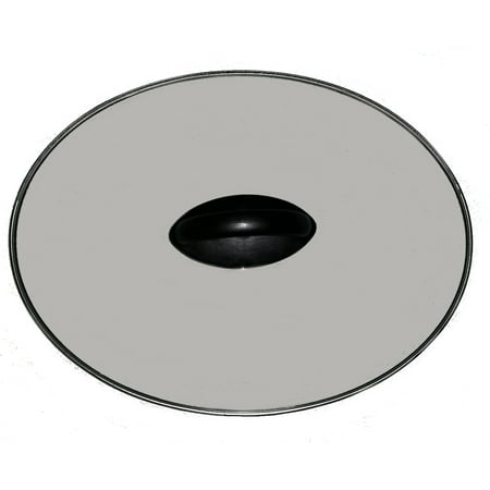 Rival SCV401-TR Crock Pot Replacement Oval Glass Lid (Crock Pot Replacement Lid Handle)