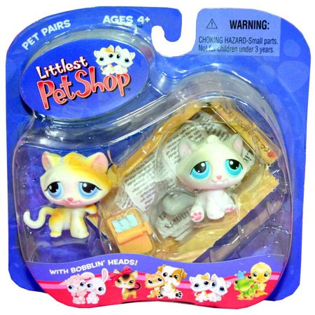 Littlest Pet Shop Pet Pairs Kitten Figure 2-Pack [Box]