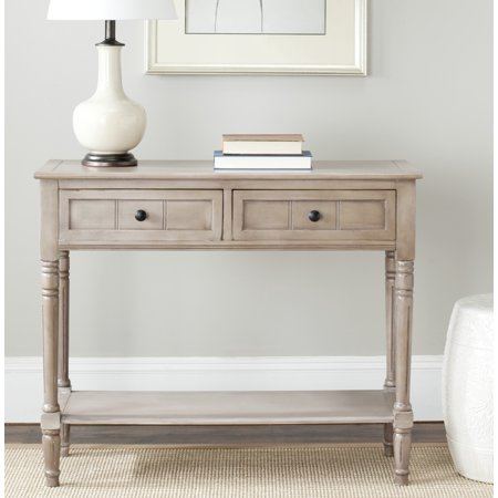Featuring Console (Safavieh Samantha Contemporary Console with Two Drawers)