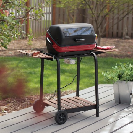 (Americana 1500-Watt Deluxe Electric Grill w/ Rotisserie Included)