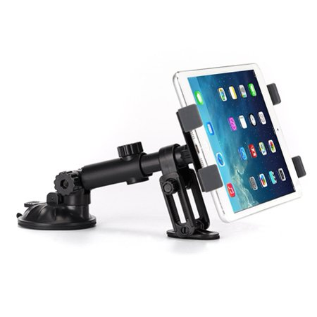Premium Car Mount Tablet Holder Dash Swivel Cradle Compatible With iPad Pro 12.9 10.5
