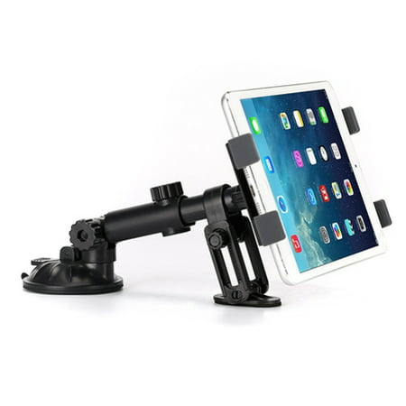 Custom Dash Mount (Premium Car Mount Tablet Holder Dash Swivel Cradle Compatible With iPad Pro 12.9 10.5 )