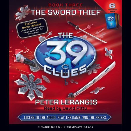 The 39 Clues Book 3: The Sword Thief - Audiobook - Narnia Peter Sword