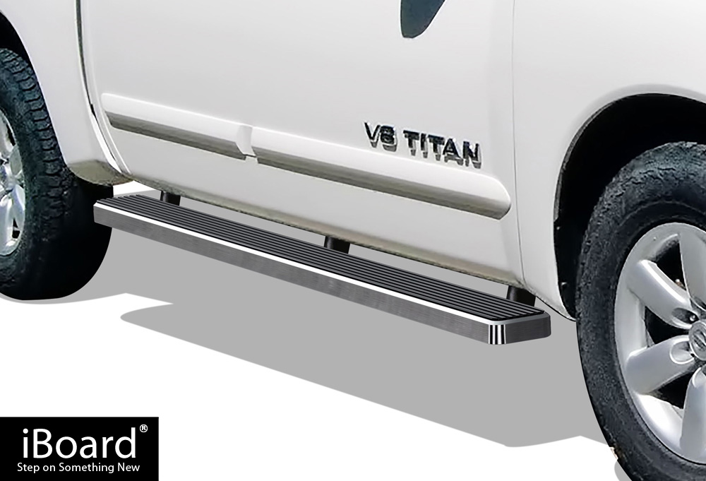 IBoard Running Board For Nissan Titan Crew Cab 4 Full Size Door    Walmart.com