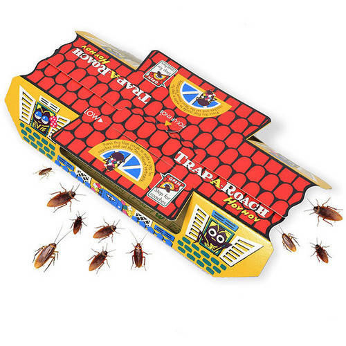 Hoy Hoy Roach bait Trap-A-Roach Made in Japan 1 Box 5 traps Pesticide-Free
